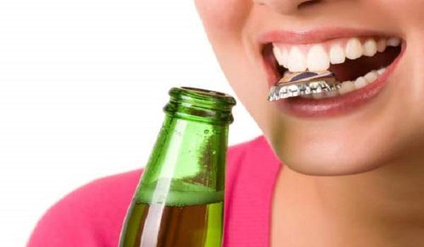 عادات بد موجب خرابی دندان